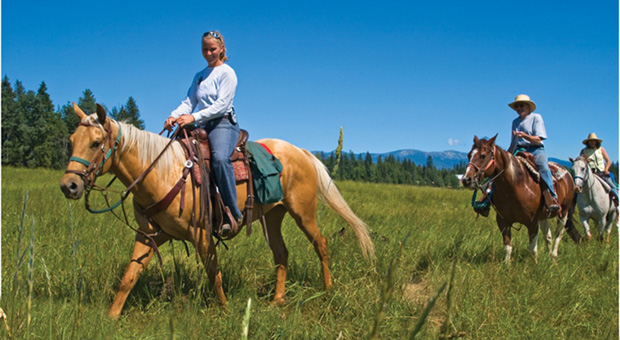 Western Pleasure Guest Ranch - Idaho dude ranches