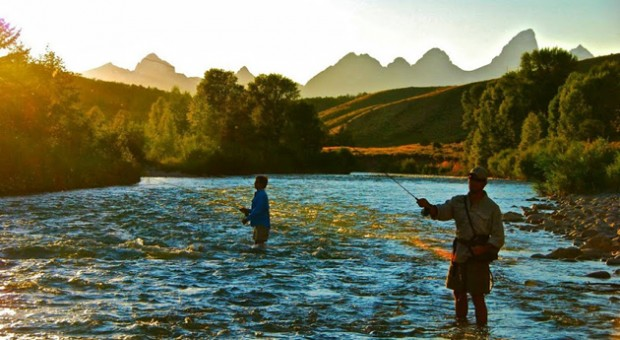Try your hand at fly fishing on the Gros Ventre River with our experienced fly fishing guide