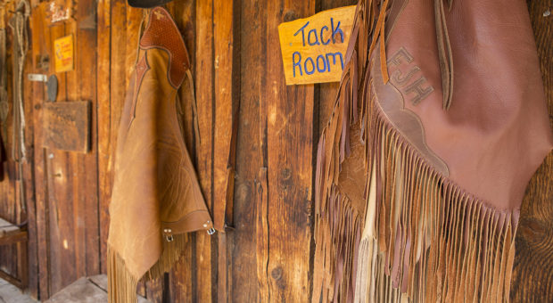 Lazy L and B Tack Room