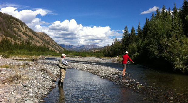 Fly Fishing at Lazy L and B Ranch